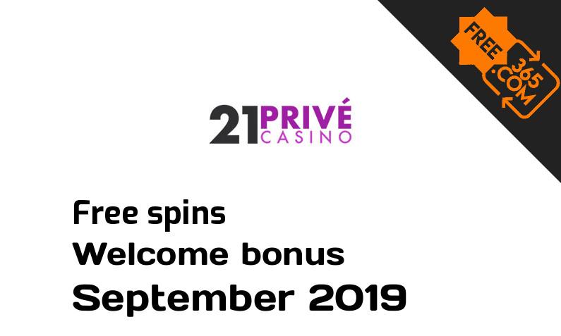 21 Prive Casino free spins, 25 bonus spins