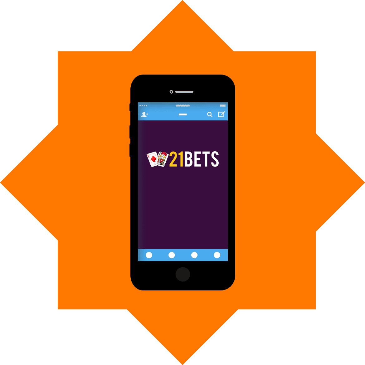 21bets Casino - Mobile friendly
