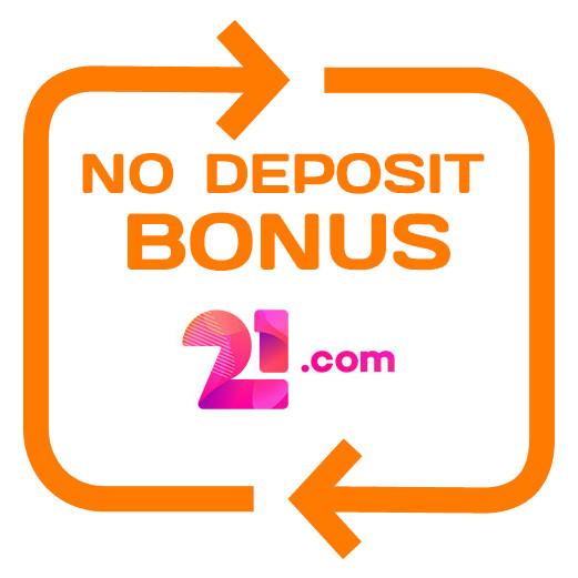 21com Casino - no deposit bonus 365