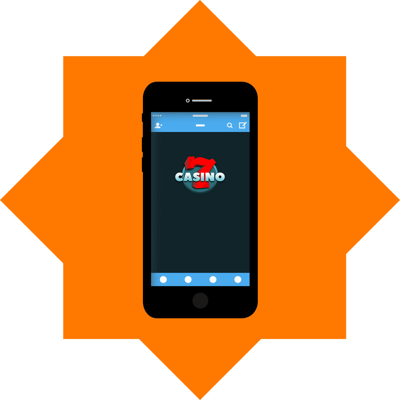 7Casino - Mobile friendly