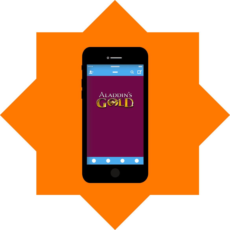 Aladdins Gold Casino - Mobile friendly