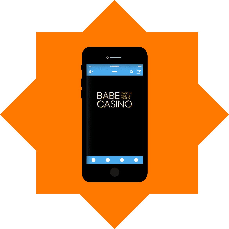 Babe Casino - Mobile friendly
