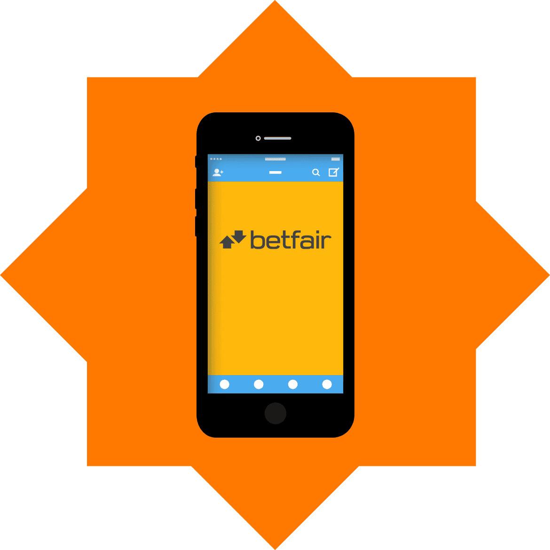 Betfair Casino - Mobile friendly