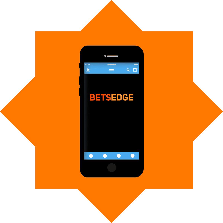 BetsEdge - Mobile friendly