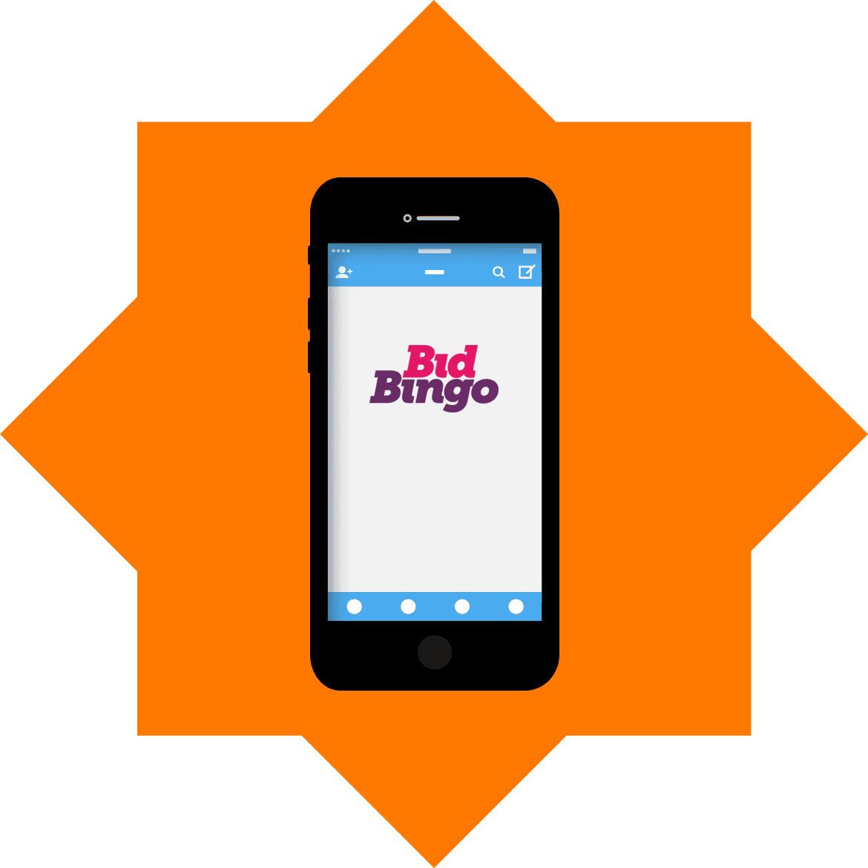 Bid Bingo Casino - Mobile friendly