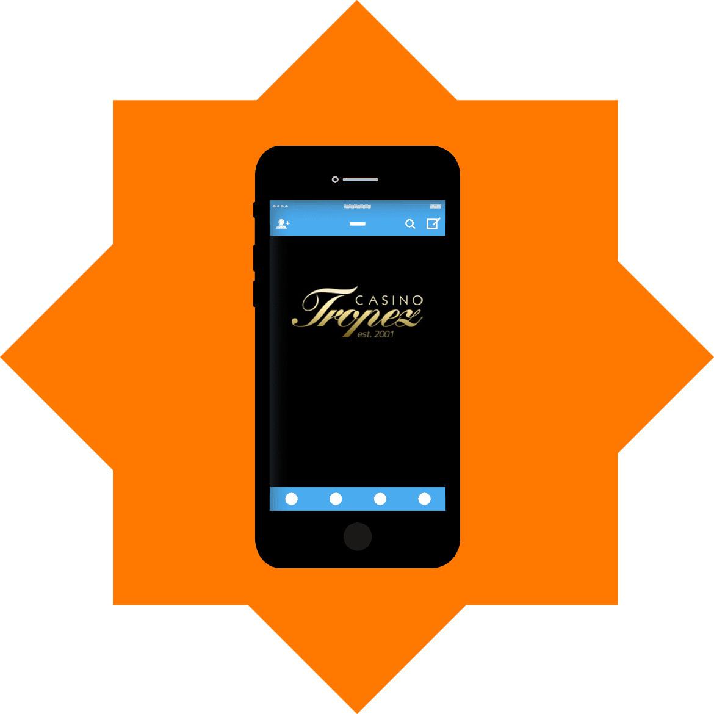 Casino Tropez - Mobile friendly