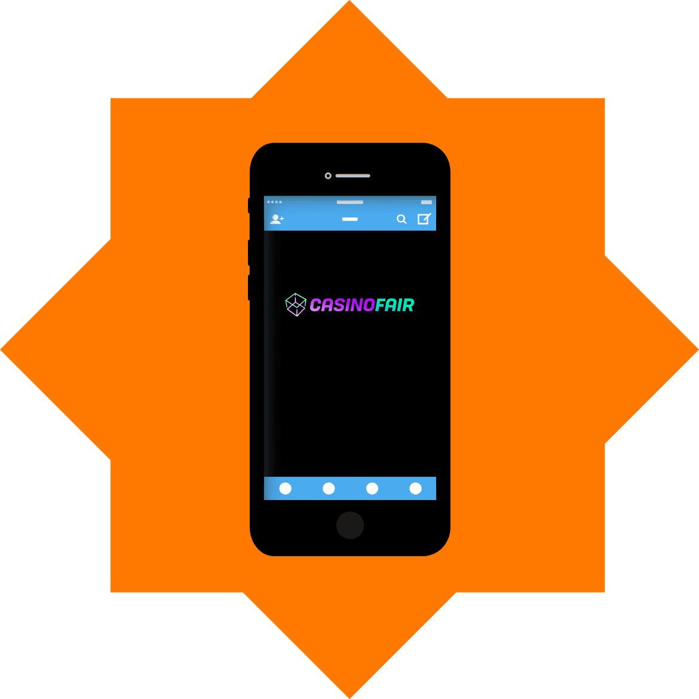 CasinoFair - Mobile friendly