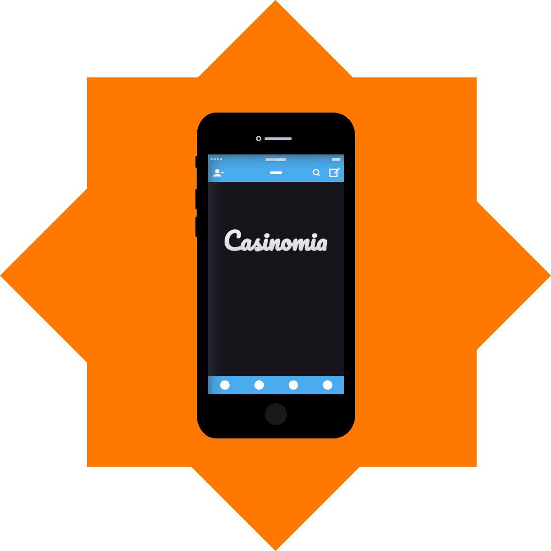 Casinomia - Mobile friendly