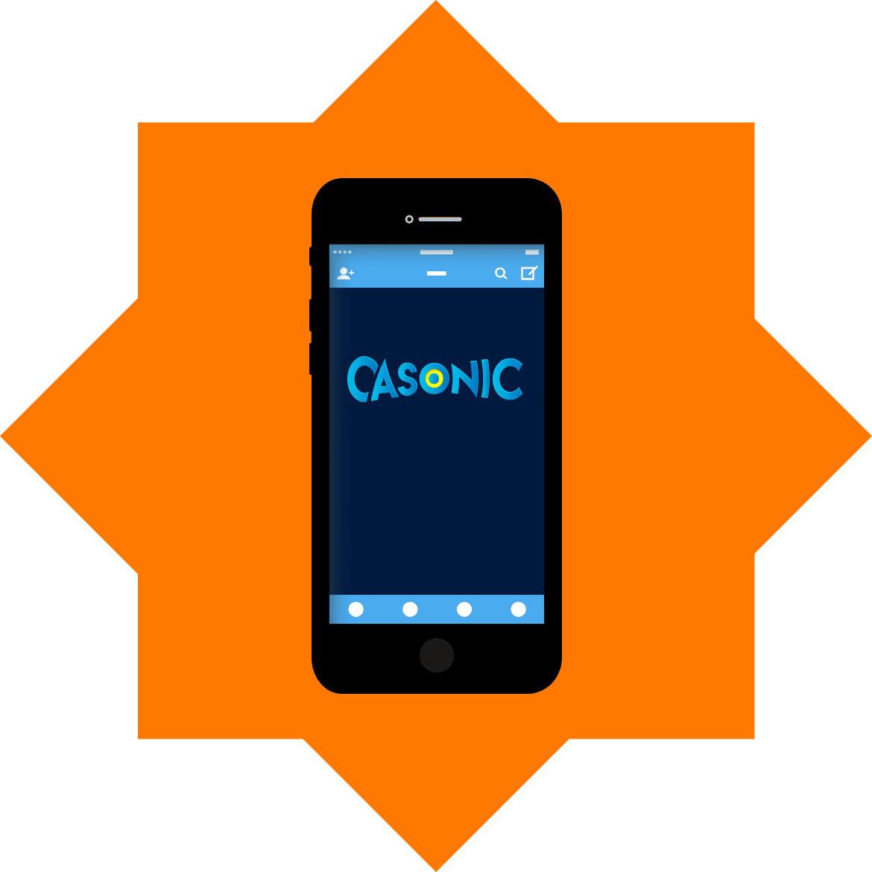 Casonic Casino - Mobile friendly