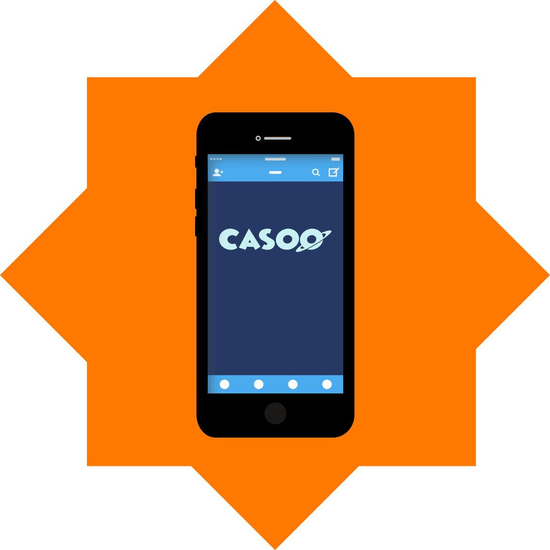 Casoo Casino - Mobile friendly