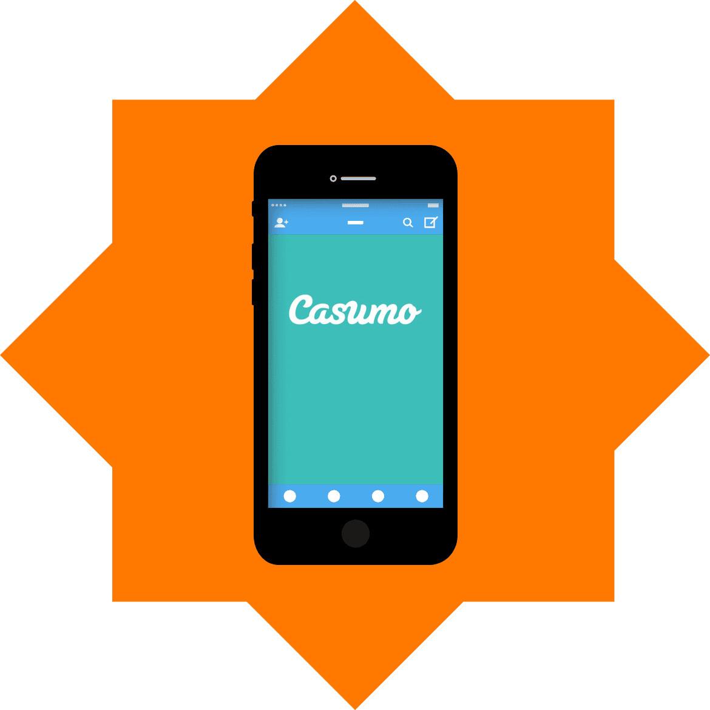 Casumo Casino - Mobile friendly