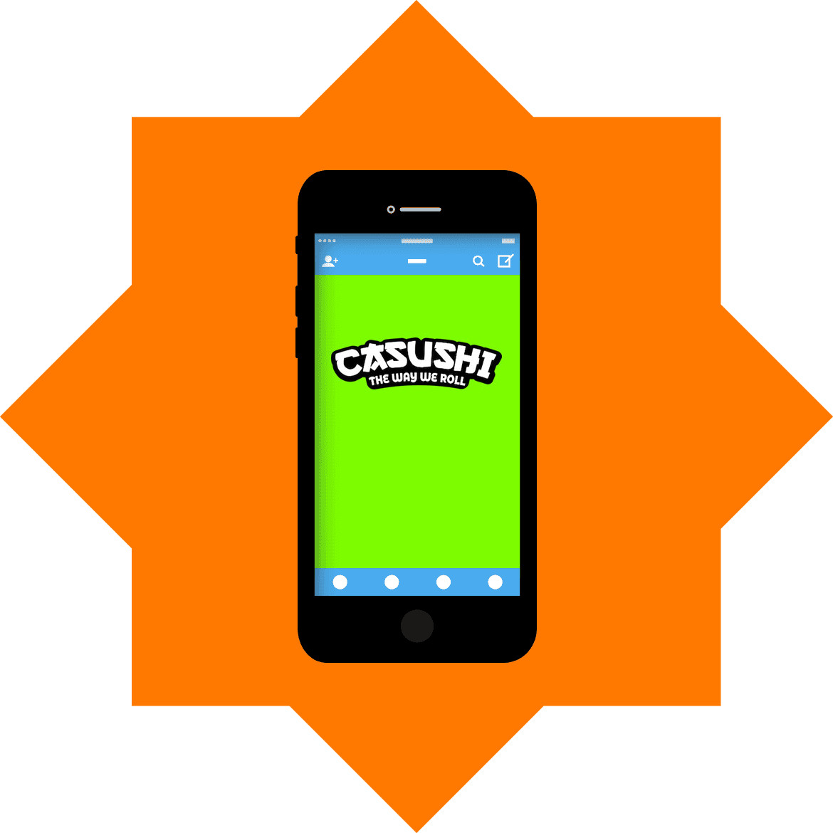 Casushi - Mobile friendly