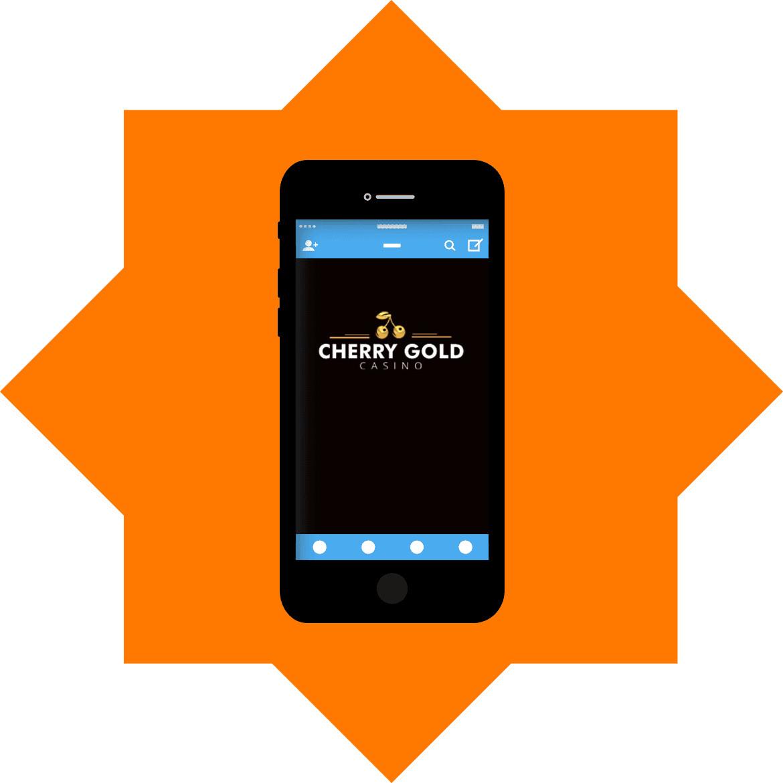 Cherry Gold Casino - Mobile friendly