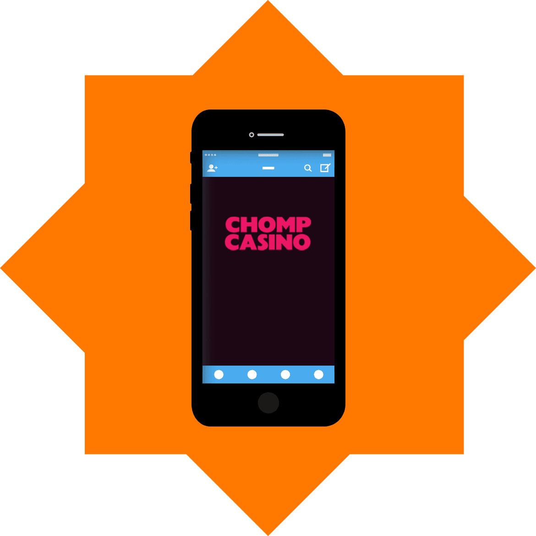 Chomp Casino - Mobile friendly