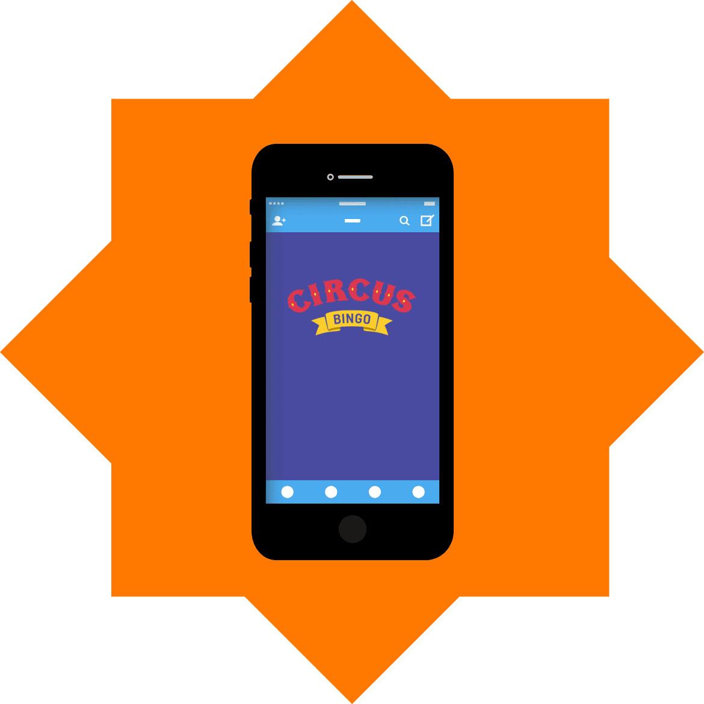 Circus Bingo Casino - Mobile friendly