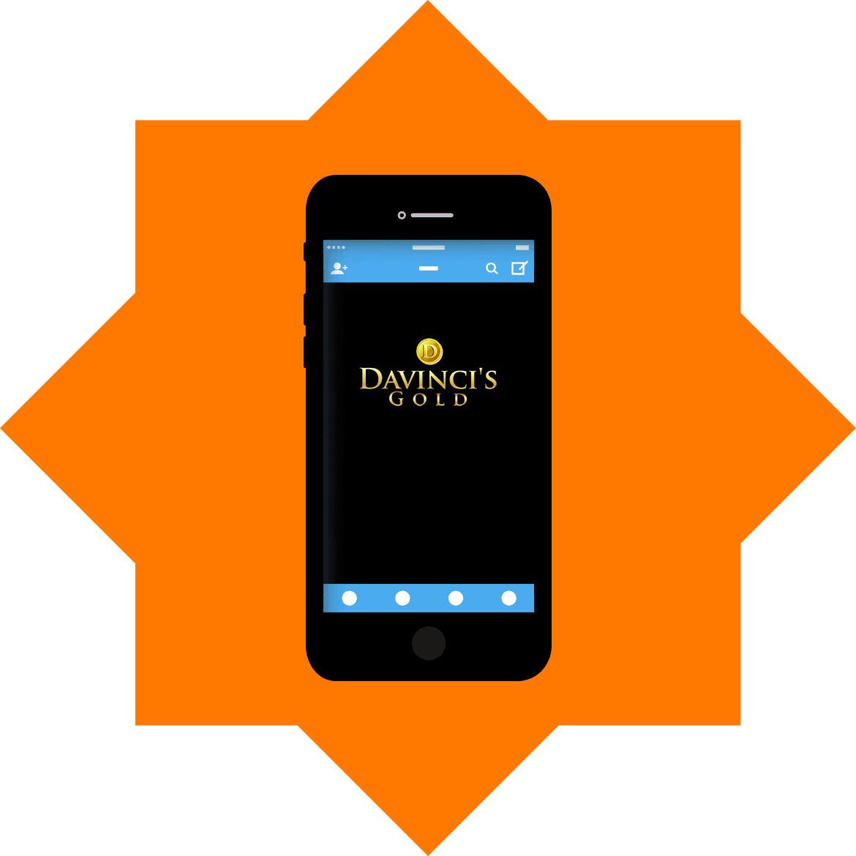 Da Vincis Gold - Mobile friendly