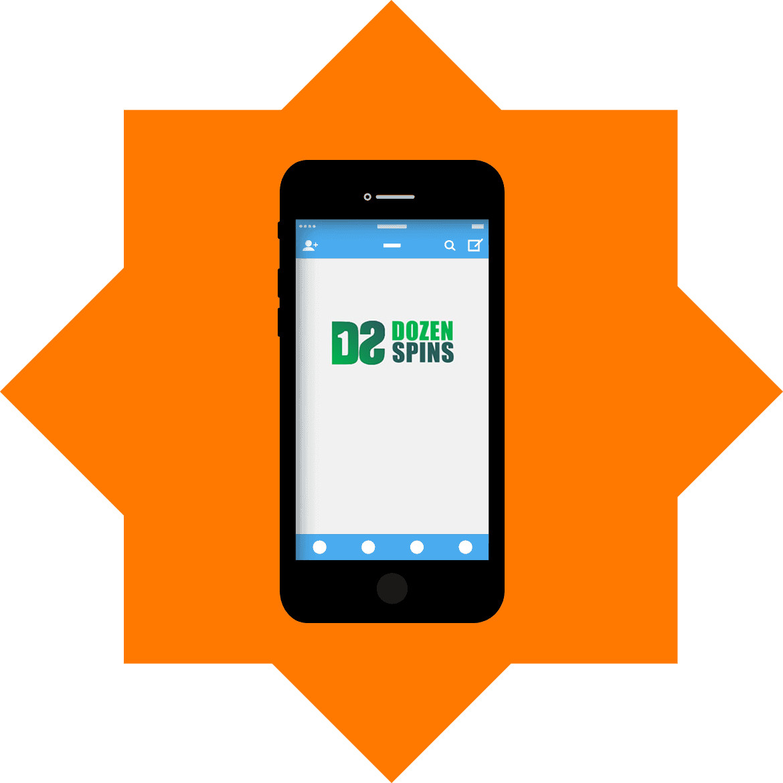 DozenSpins - Mobile friendly