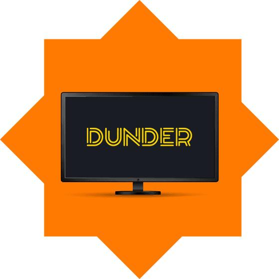 Latest no deposit free spin bonus from Dunder Casino
