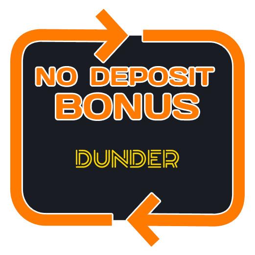 Dunder Casino - no deposit bonus 365