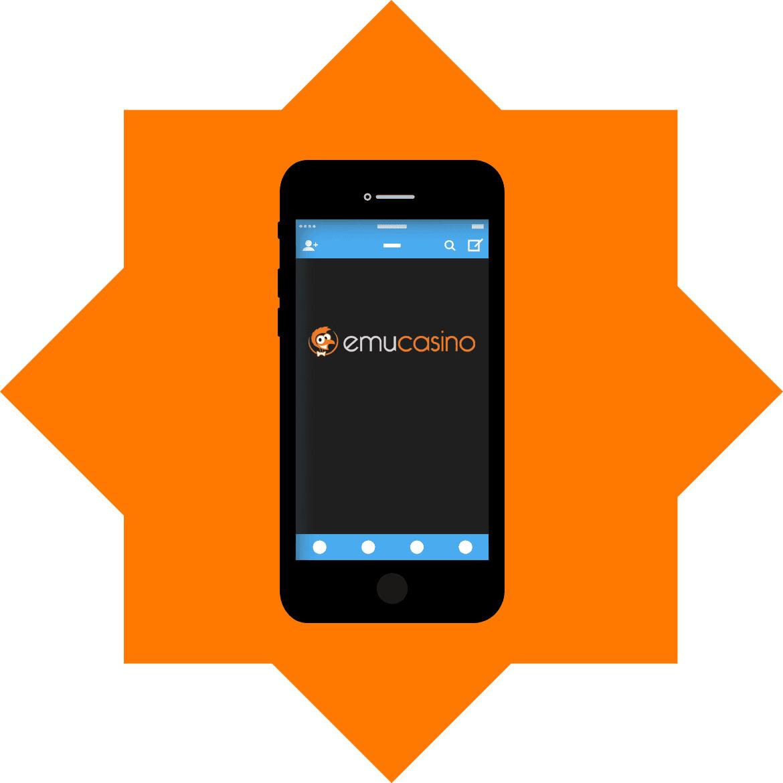 EmuCasino - Mobile friendly