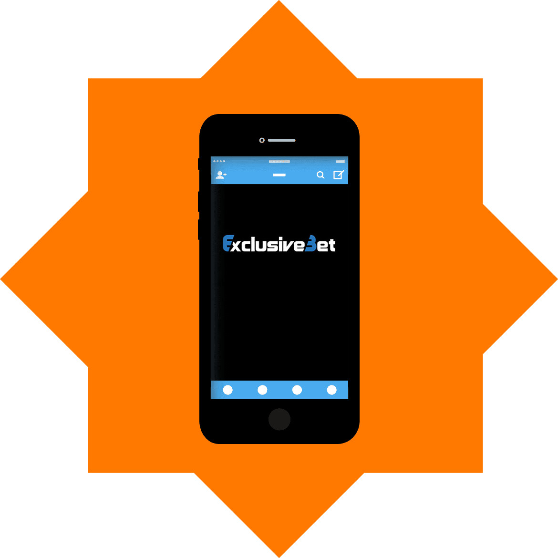 ExclusiveBet - Mobile friendly