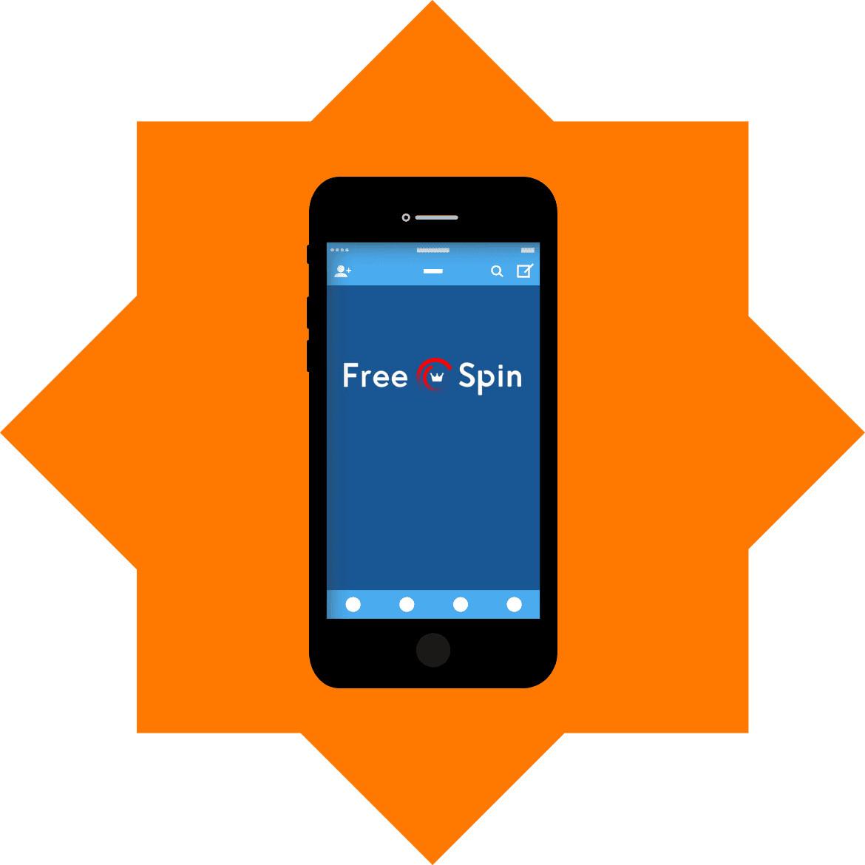 FreeSpin Casino - Mobile friendly
