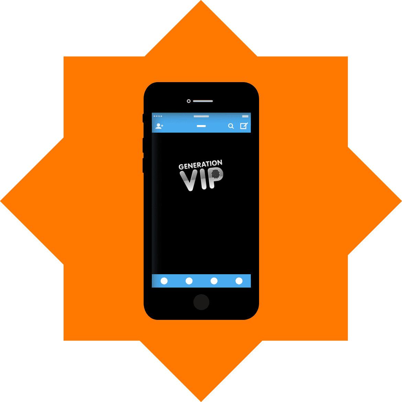 GenerationVIP - Mobile friendly