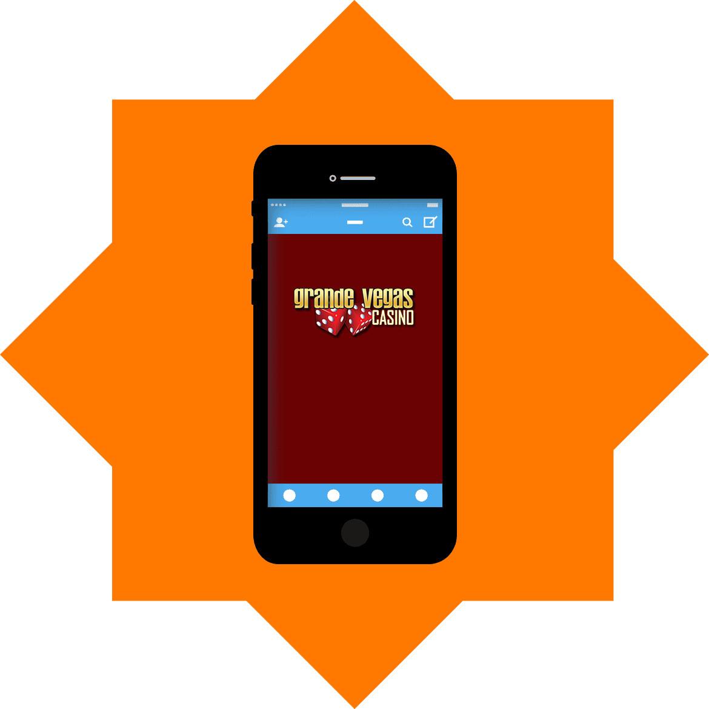 Grande Vegas Casino - Mobile friendly