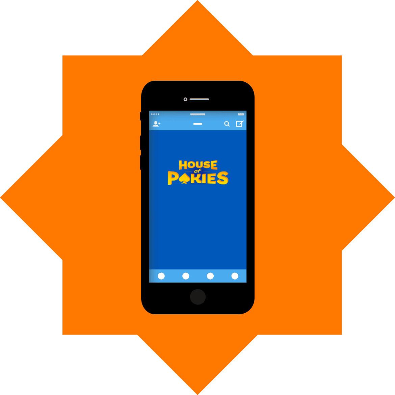 House of Pokies - Mobile friendly