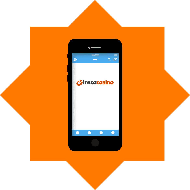 InstaCasino - Mobile friendly