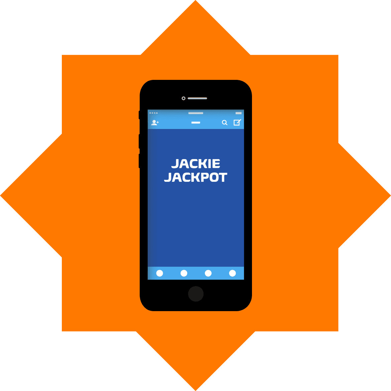 Jackie Jackpot - Mobile friendly