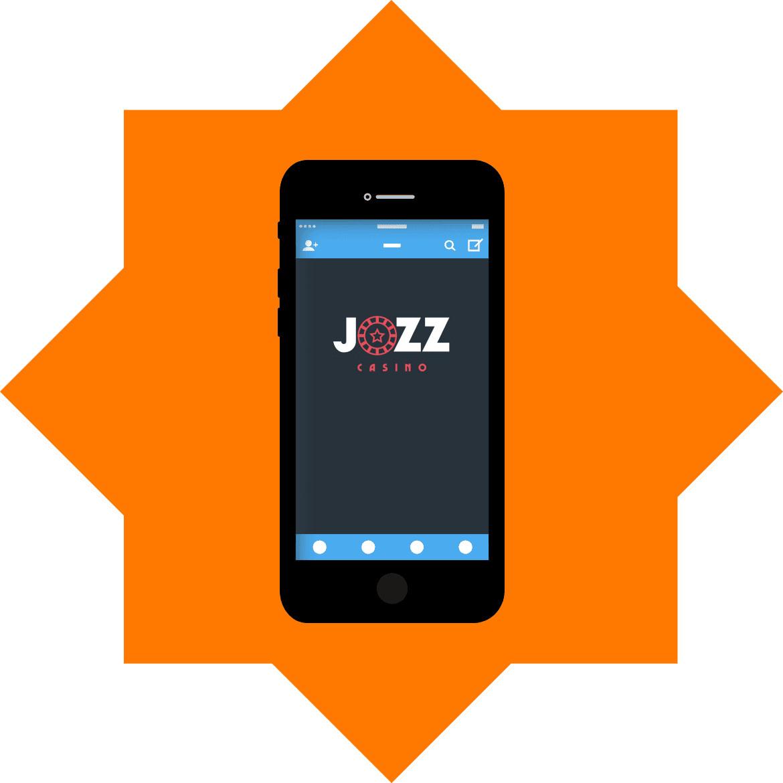 Jozz Casino - Mobile friendly