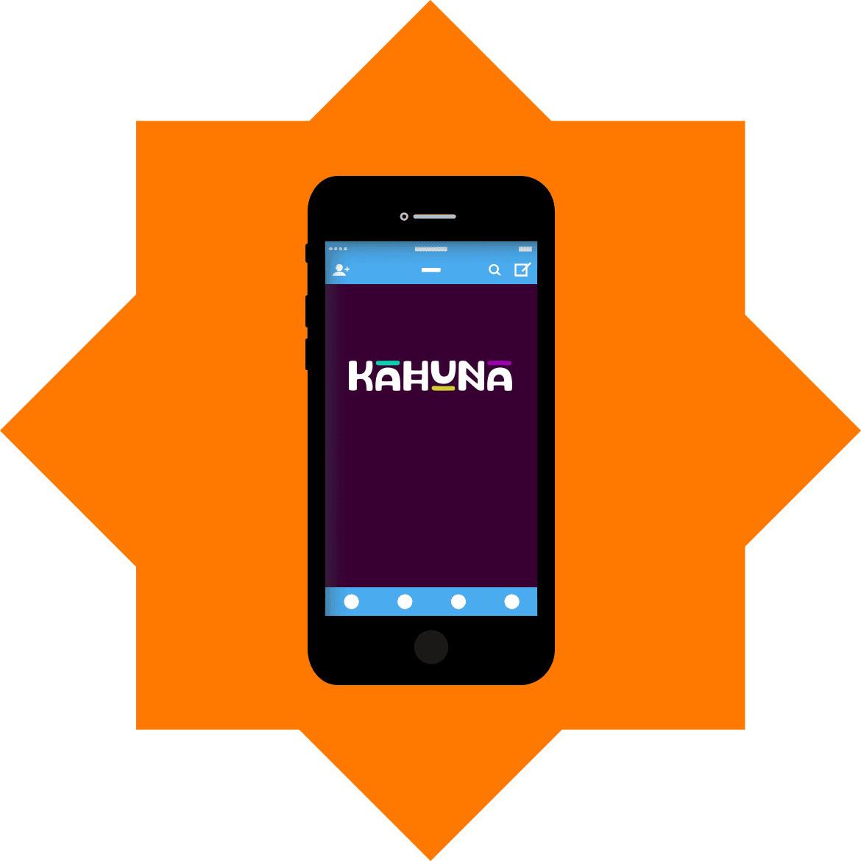 Kahuna - Mobile friendly