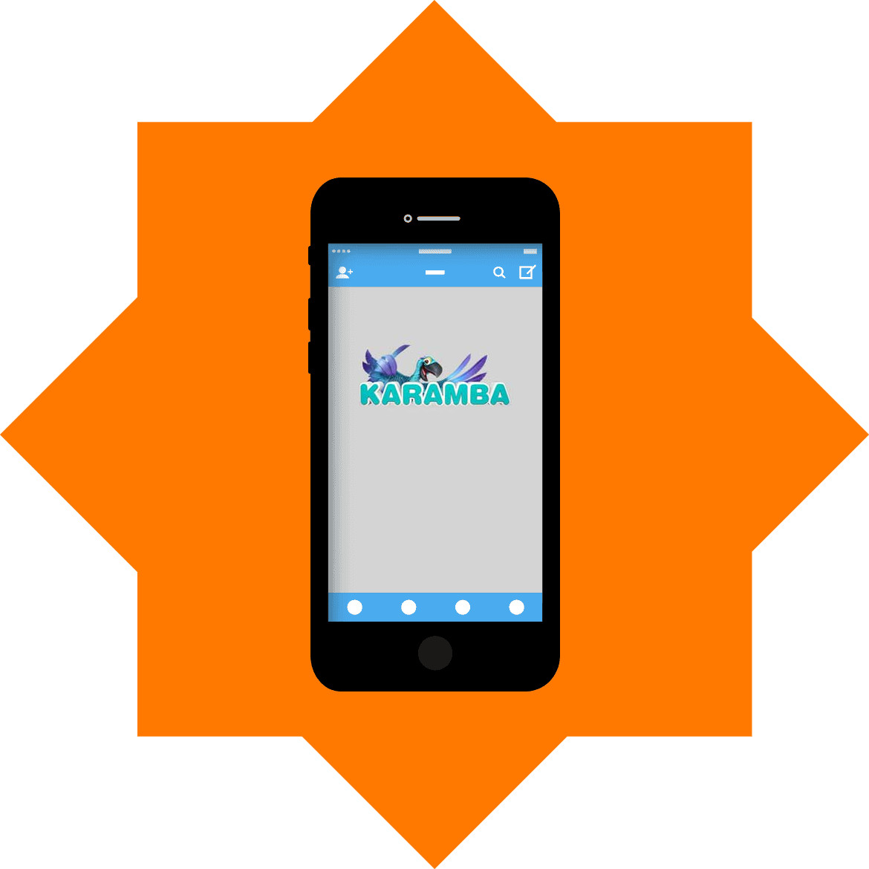 Karamba Casino - Mobile friendly