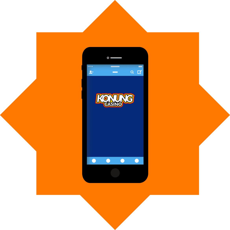 Konung Casino - Mobile friendly