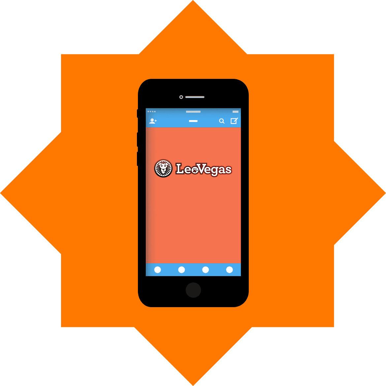 LeoVegas Casino - Mobile friendly