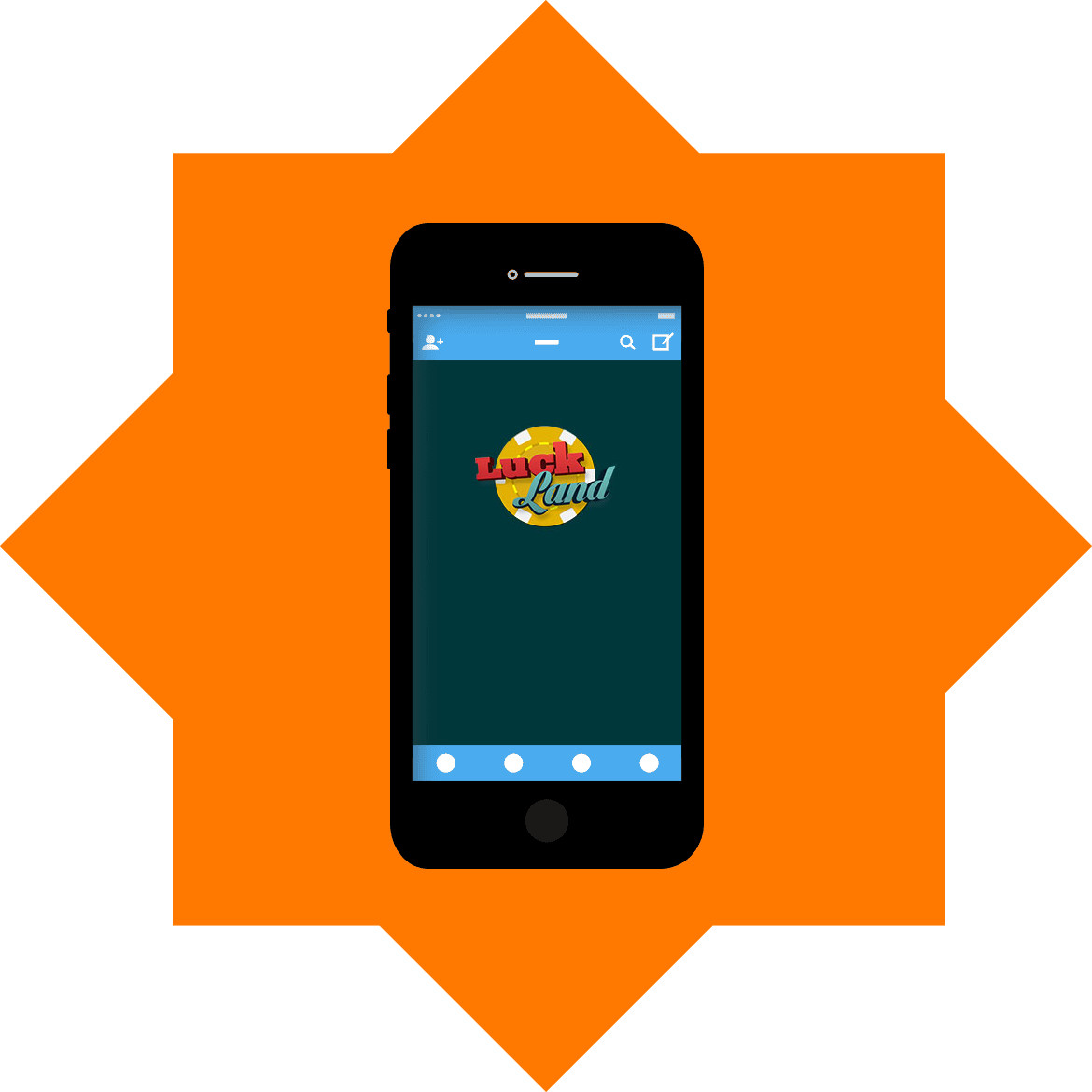 LuckLand - Mobile friendly