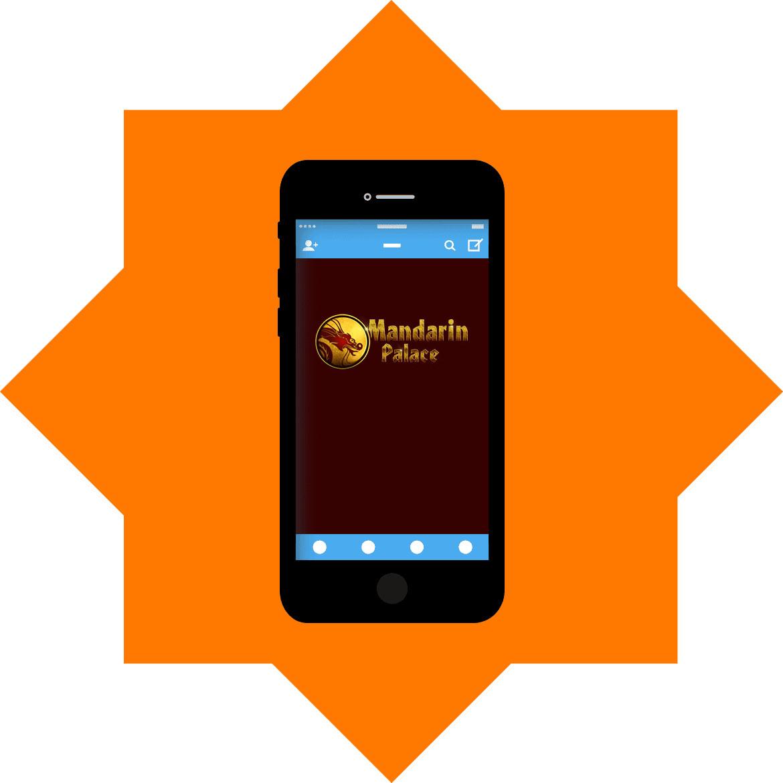 Mandarin Palace Casino - Mobile friendly