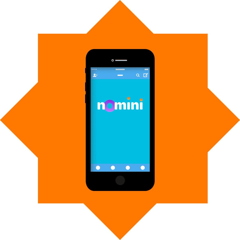 Nomini - Mobile friendly