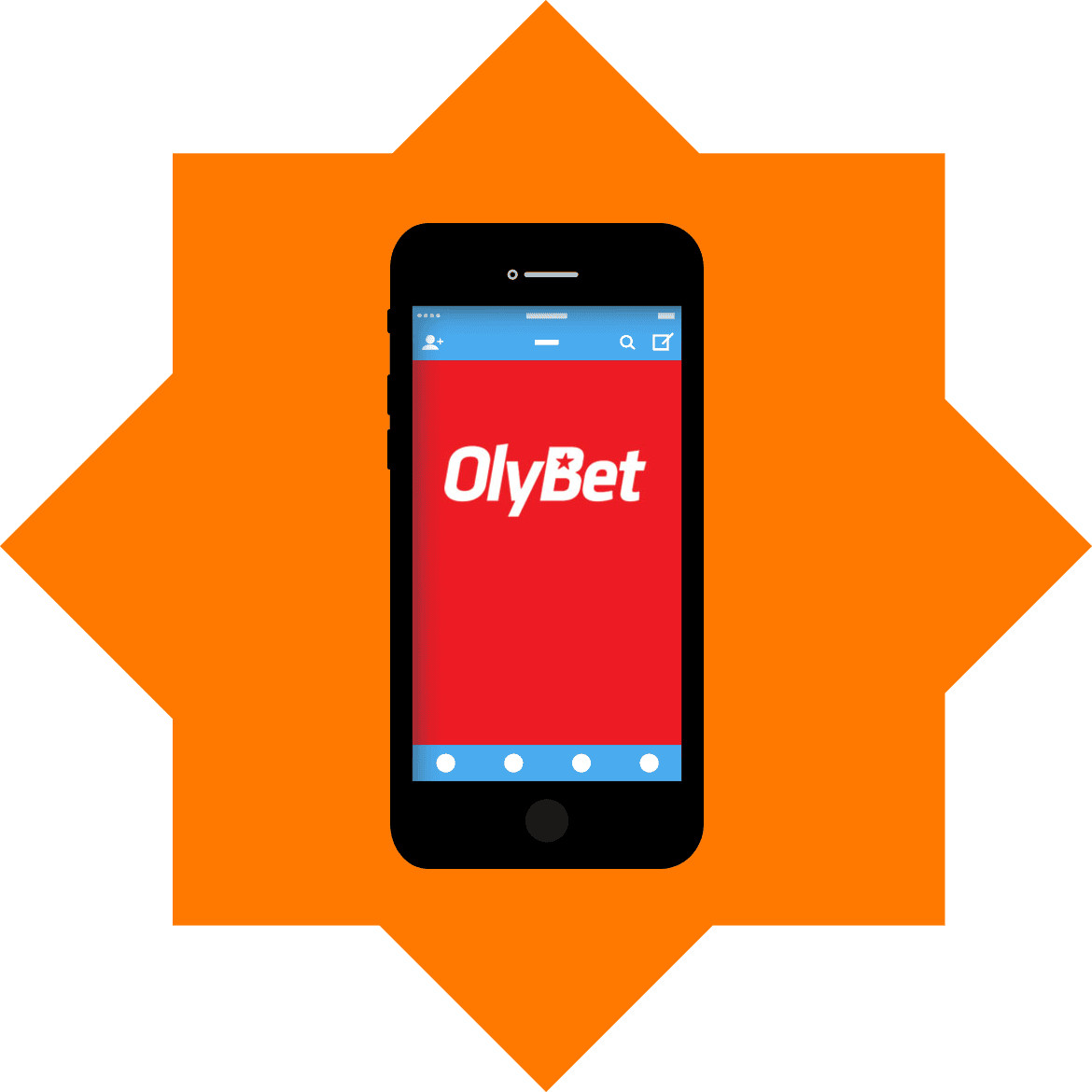 Olybet - Mobile friendly