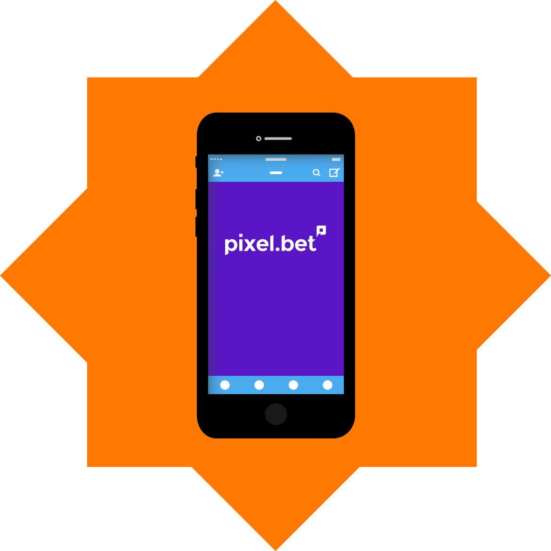 Pixelbet Casino - Mobile friendly