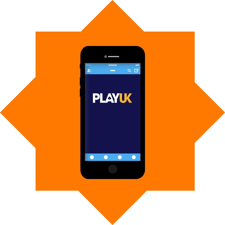 Play UK Casino - Mobile friendly