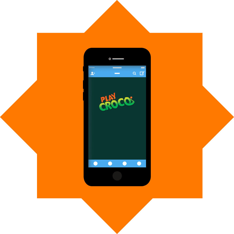 PlayCroco - Mobile friendly