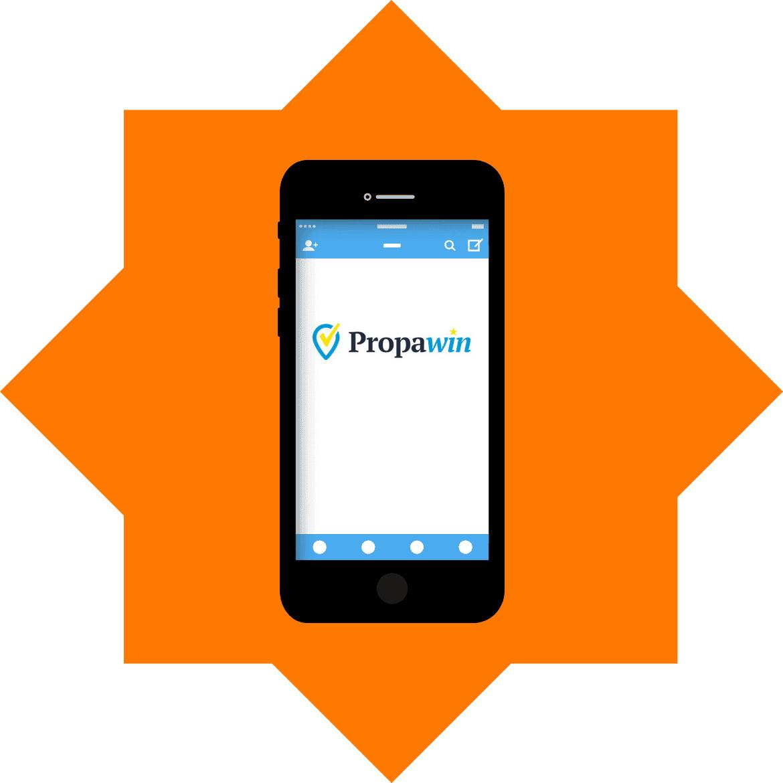 PropaWin Casino - Mobile friendly