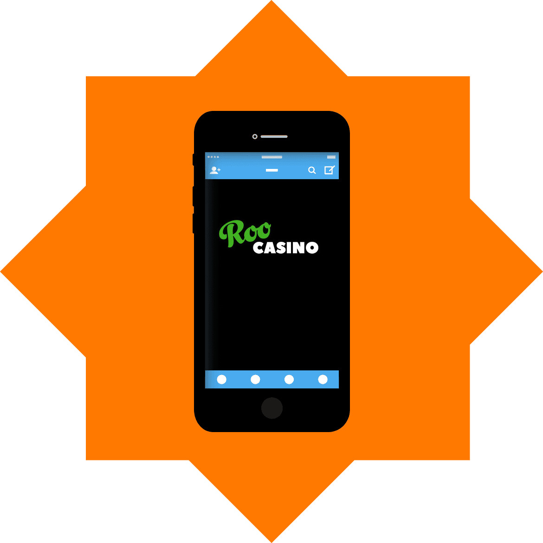 ROO Casino - Mobile friendly
