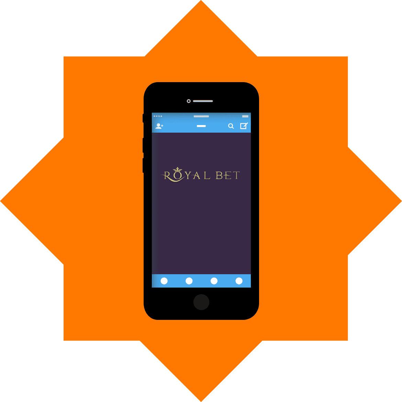 Royalbet - Mobile friendly