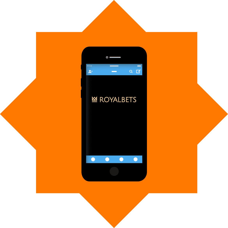 Royalbets - Mobile friendly