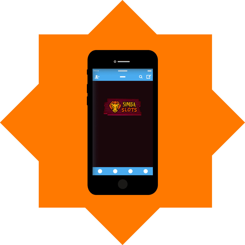 Simba Slots - Mobile friendly
