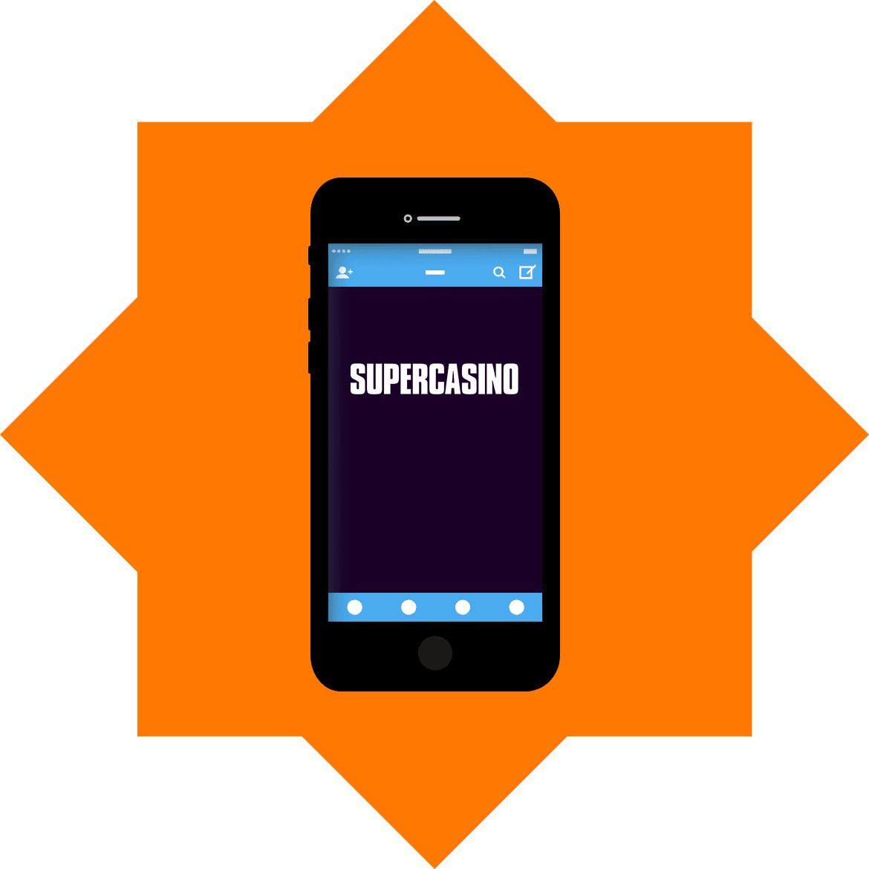 Super Casino - Mobile friendly