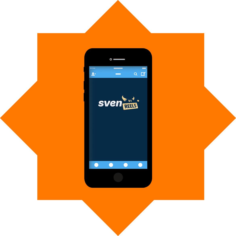 SvenReels - Mobile friendly